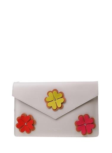 Lancaster Postacı Çantası Ekru